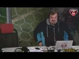 Василий Уткин упал со стула в прямом эфире.