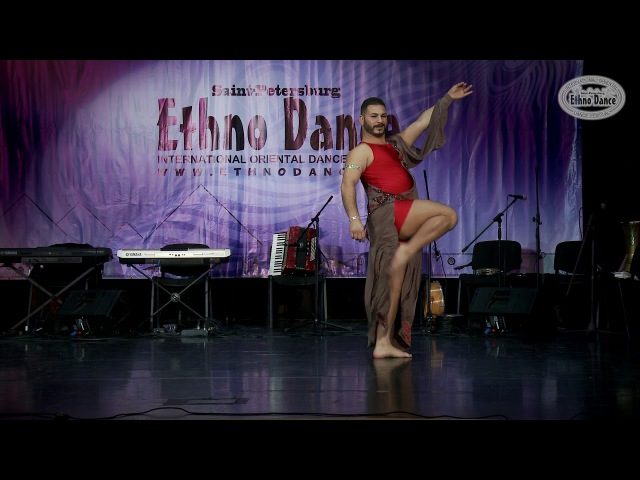 AZAD KAAN - Gala Сlosing 27 August 2017, «Ethno Dance»