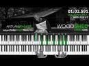 ADVANCED Piano WoodSHED (feat. Antuan Walker)