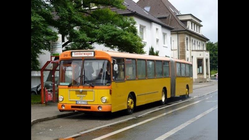 Mitfahrt im MAN SG 192 der AG Nahverkehr Dortmund (ex KEVAG, Koblenz 210, Bj. 1980), 29.09.12