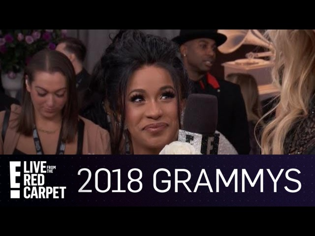Cardi B Has Butterflies in Her Stomach Where?! | E! Live from the Red Carpet