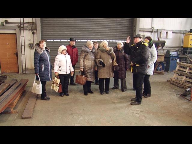 Ветераны завода посетили «ВСМПО-Строитель» (УКС)