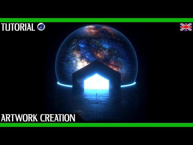 Cinema 4D Tutorial Octane Render | Space Scene Artwork Creation | With Project File