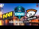 NaVi vs VP #2 (bo3) ESL One Hamburg 2017 23.09.2017