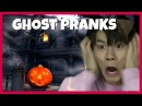 KPOP IDOLS vs GHOST PRANKS HAUNTED HOUSE ZOMBIES PT1 - BTS EXO TWICE WANNAONE IKON GOT7 ETC
