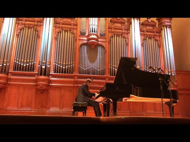 Rachmaninov Etude-Tableaux op.39 N9 D-dur. Dmitry Masleev. 27.01.18
