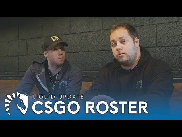 Liquid CSGO | Roster Update - NAF Joins Liquid