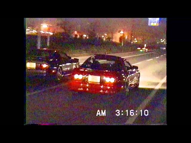 幕張ゼロヨン1992年 10月11日makuhari messe street drag car race