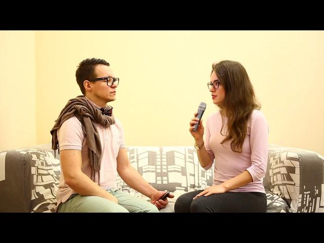 Интервью у Иннокентия. Инсталяция под пледом