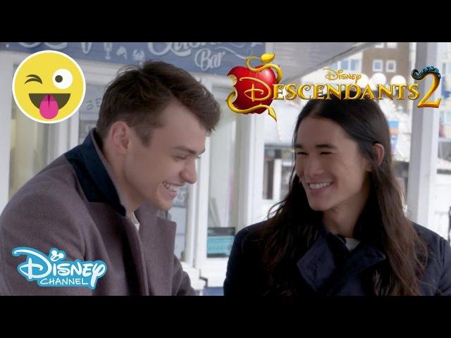 Descendants 2 Thomas Doherty Booboo Stewart Dare 2 Official Disney Channel UK