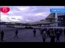Обновленный ракетоносец Ту 160 вывели из цеха в Казани