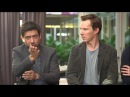 Benedict Cumberbatch compliments Michael Shannon and Nicholas on their acting