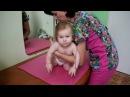 Гимнастика для детей 6 9 месяцев просто