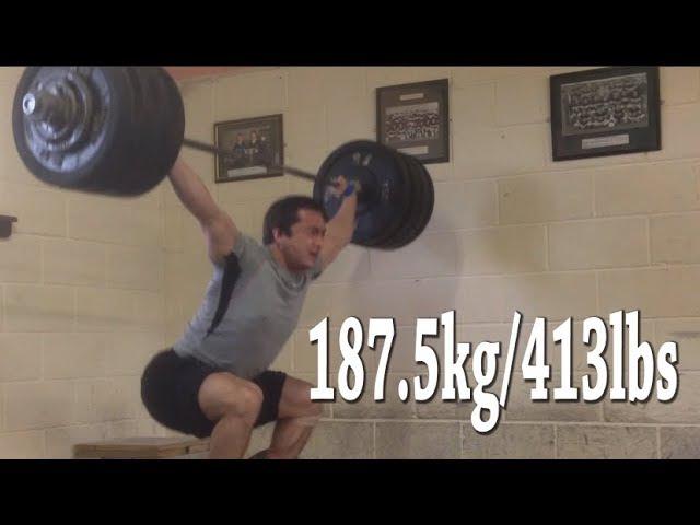 187.5kg/413lbs Snatch