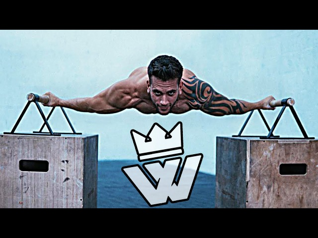CALISTHENICS Workout - STRONG Guy!! Osvaldo Lugones