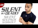 40 Min. Silent Six-Pack Low Impact Workout   Silent But Deadly: Day 08