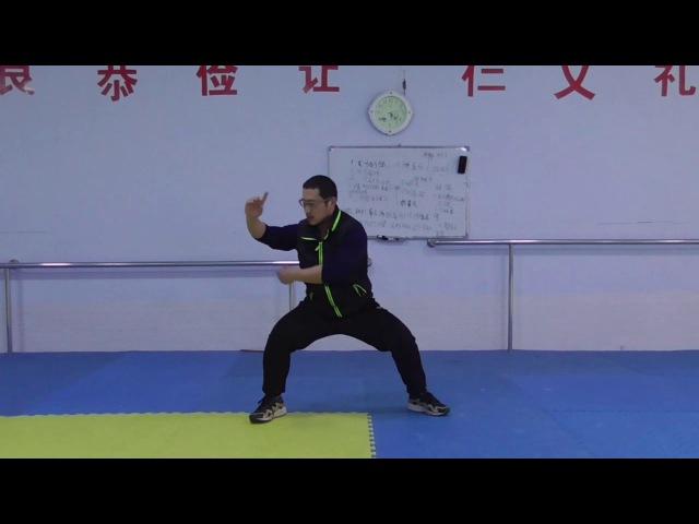 练太极拳如何不伤膝盖?这样正确的训练姿势,打拳竟然灵活自如