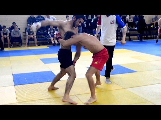 Боец ММА забросал ударника Борьба против бокса