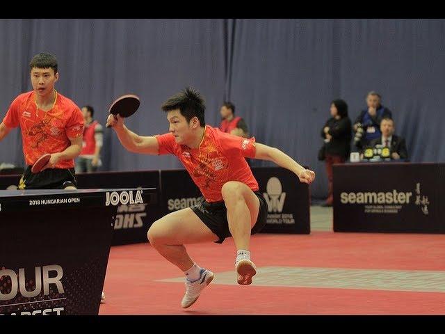 [MD-FINAL] 2018 Hungarian Open - FAN Zhendong/YU Ziyang Vs SAMSONOV Vladimir/PLATONOV Pavel - HD720p