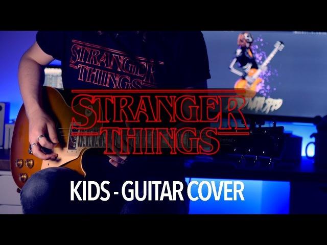 Kids - Stranger Things (Guitar Bass Cover)