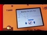 Máy đo phản xạ miền thời gian, xác định chiều dài và lỗi cáp ngầm T3060