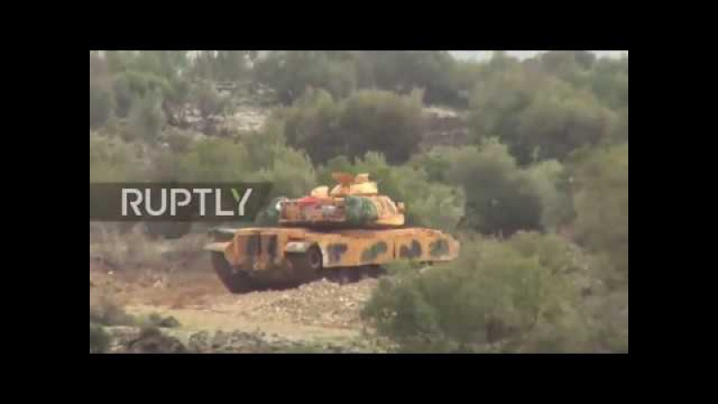 Turkey: Armoured vehicles head to Afrin as operation 'Olive Branch' continues