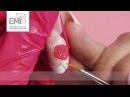 Лепка розы! Объемный дизайн ногтей с пластилином