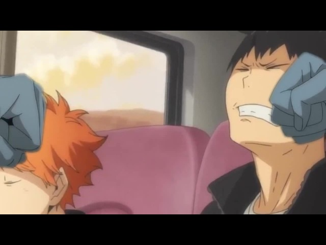But Tobio can't dance