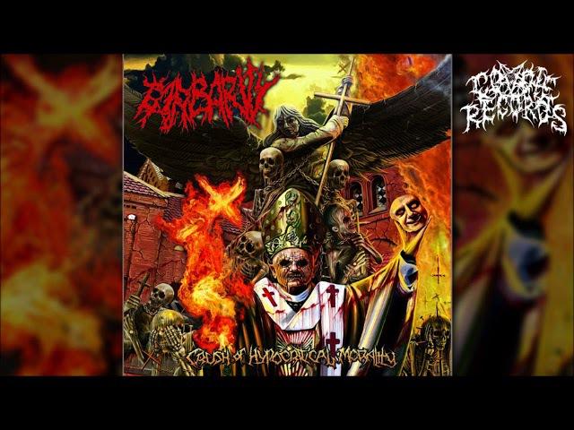 BARBARITY Crush Of Hypocritical Morality Full length Album Old School Brutal Death Metal