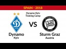 LIVE Dynamo Kyiv Sturm Austria