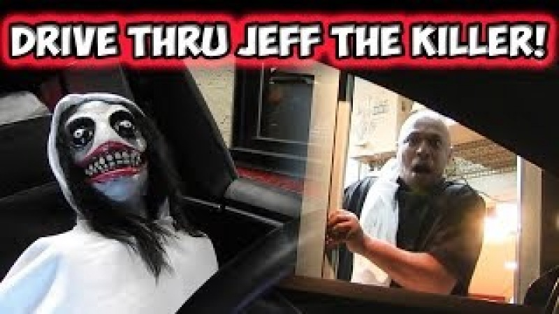 Drive Thru Jeff The Killer Prank!!