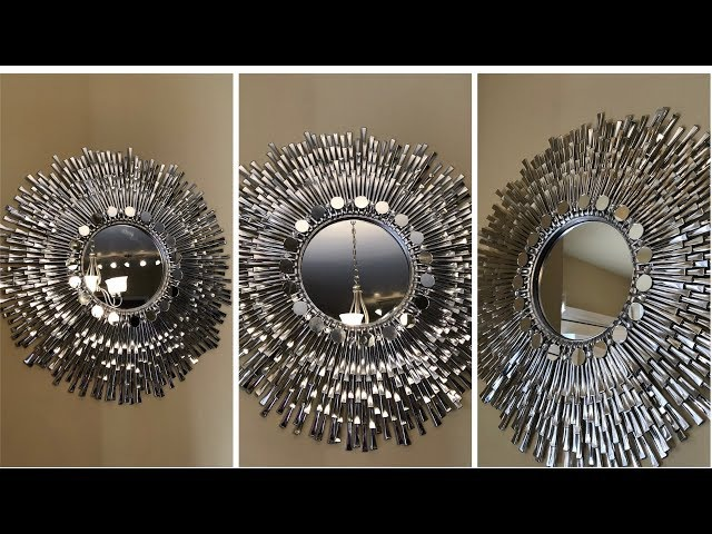 "Dollar Tree DIY - 💕 24"" Decorative Wall Mirror 💕"