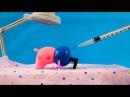 Свинка Пеппа мультик игрушками Укол у Доктора игрушки для детей на русском языке