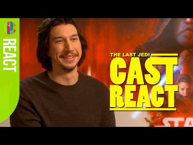 Star Wars: The Last Jedi cast react to fan questions!