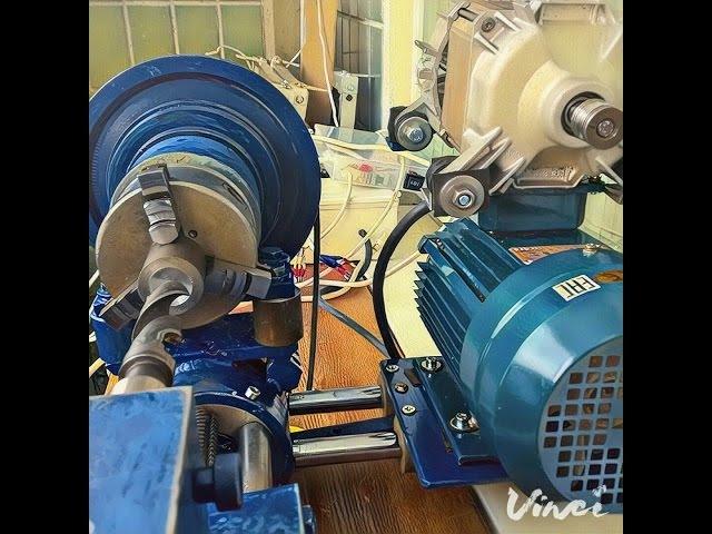 Какой двигатель использовать в самодельном токарном станке