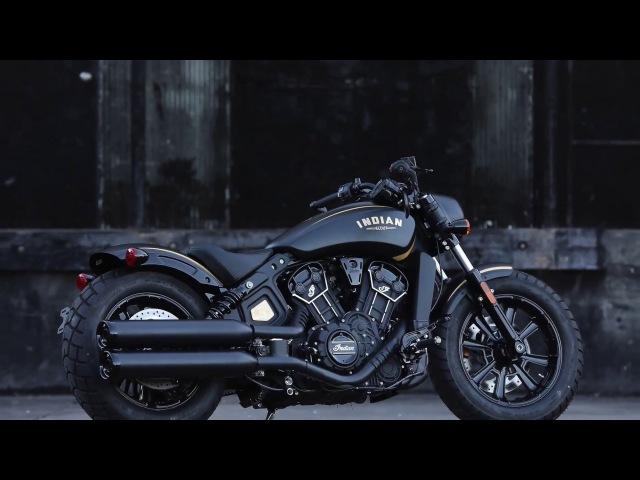 Indian Motorcycle unveils 177 Gold Black Jack Daniel's Limited edition Scout Bobber models