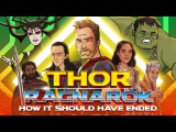 Как должен был закончиться фильм Тор: Рагнарёк