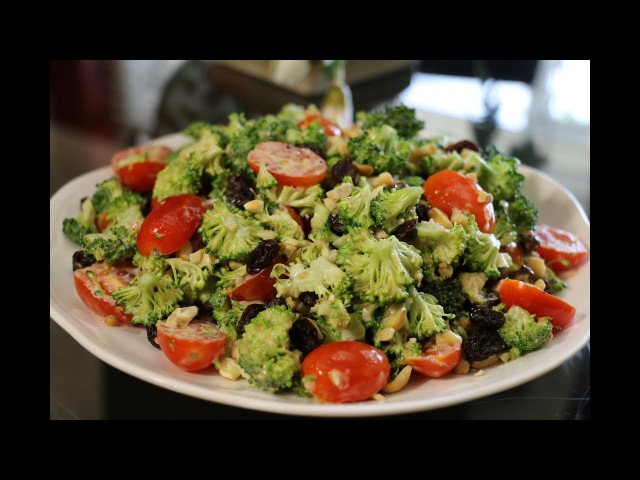 Салат из Брокколи ВКУСНЕЕ НЕ БЫВАЕТ - Мой любимый салат!