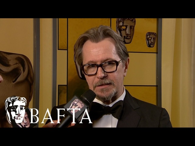 Gary Oldman   Backstage Interview   EE BAFTA Film Awards 2018