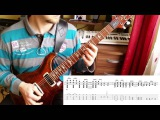 Melodic Stoner Rock Guitar Lesson with tabs #7