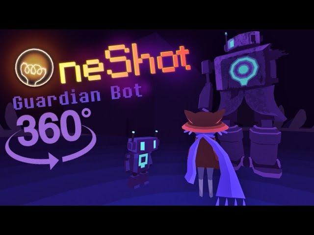 Oneshot 360 2: Barrens - Guardian Bot VR EXPERIENCE