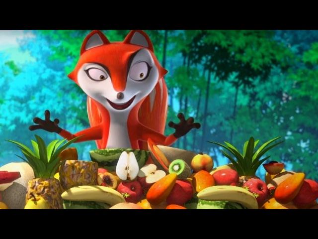 Кротик и Панда - сборник - Самые вкусные серии 🎂🍉- развивающий мультфильм для детей