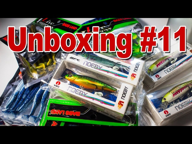 Unboxing 11 Копии pontoon 21 greedy guts, sawamura one'up shad, swing impact fat и другие