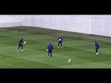 Видео с тренировки Национальной сборной Казахстана в Будапеште