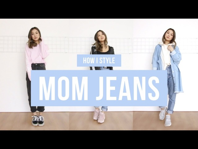 How I Style Mom Jeans   clothesnbits
