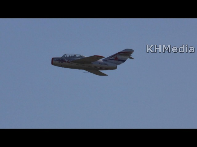 МиГ-15 УТИ RA-0488G 105 лет ВВС