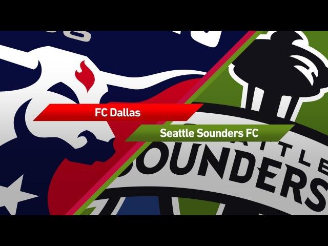 Highlights: FC Dallas vs. Seattle Sounders | September 16, 2017