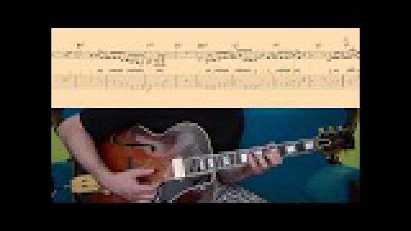 SANDU Wes Montgomery transcription TABs Score