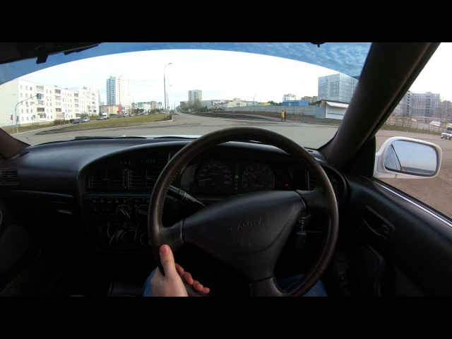 1991 Toyota Camry 2.0 Prominent E type 4WS POV Test Drive