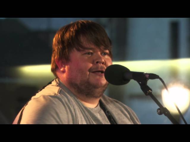 Ciaran Bartlett sings an Irish folk song